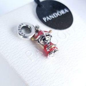PANDORA 14K & Silver Fortune & Luck Dangle Charm
